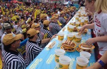 World famous Nathan's Hot Dog Eating contest choose KV2