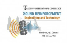 KV2 provided sound for the 59th AES Conference in Montreal