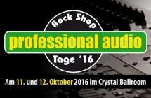 Rock Shop professional audio Tage 2016
