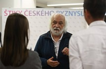 George Krampera hostem setkání Štik českého byznysu 2016