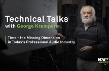 PART I: Time - the Missing Dimension in Today's Professional Audio Industry