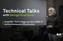 PART V: Amplifier Technology and the VHD4.21 Active Subwoofer Electronics