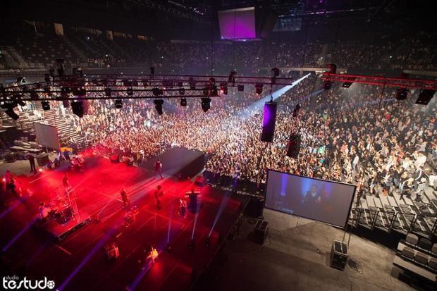 Zeljko Joksimovic Held A Concert In Front Of 12 000 People In Split Arena Using Vhd System Novinky Kv2 Audio
