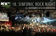 KV2 Audio an der 18. Sinfonic Rock Night am 24. November 2016
