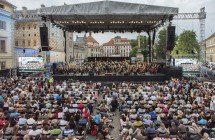 Czech Philharmony with Jazz at Lincoln Centre Orchestra at Prague's Open Air Concert