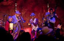 The Preservation Hall Jazz Band Konzert für Summit LA17 am Broadway