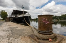 V pražských Holešovicích kotví unikátní loď se zvukem od KV2