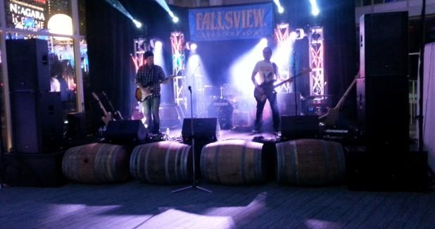 Niagara AV Wine Festival 2016 stage