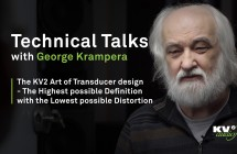 PART IV: The KV2 Art of Transducer design - The Highest possible Definition with the Lowest possible Distortion