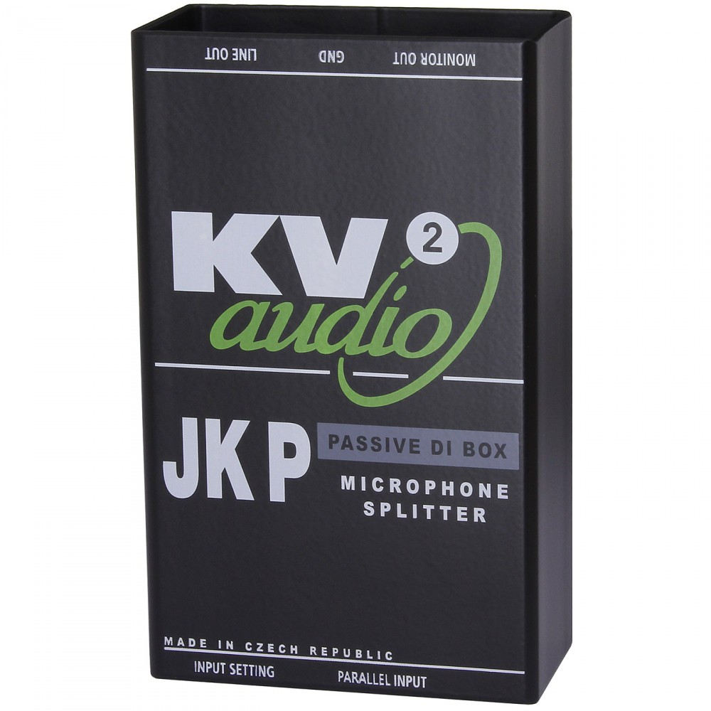 JKP | JK - DI Boxes | Products | KV2 Audio